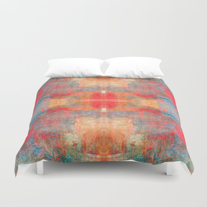 Abstract 0495 Duvet Cover