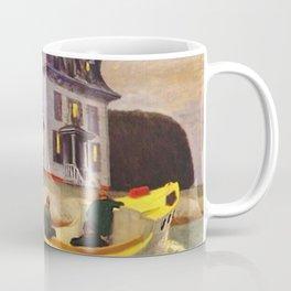 The Bootleggers (New England) portrait painting by Edward Hopper Coffee Mug