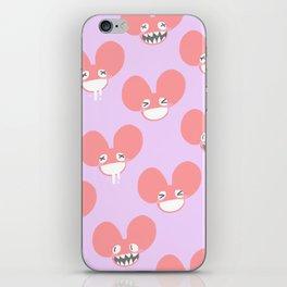 mau5 friends iPhone Skin