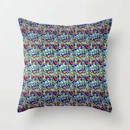 Andalusian Tiled Plinth Throw Pillow