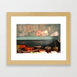 Stuff I Find Framed Art Print