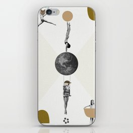 The great world circus iPhone Skin