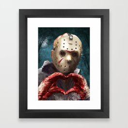 Love, Jason Framed Art Print