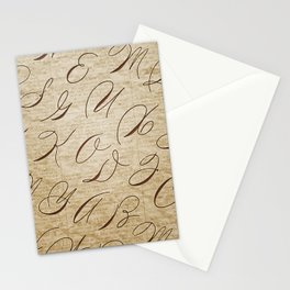 Calligraphitis Stationery Cards