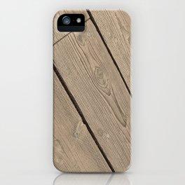 Wood Paneling iPhone Case