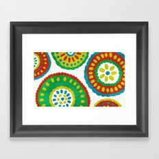 Dutch Medallions Framed Art Print