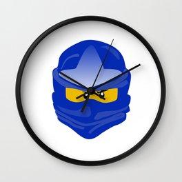Ninjago face Jay  Wall Clock