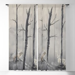 The Spirits of the forest Blackout Curtain