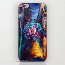 """""""Orchid"""" Painting iPhone Skin"""
