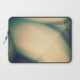 Abstractions in Cyan Laptop Sleeve