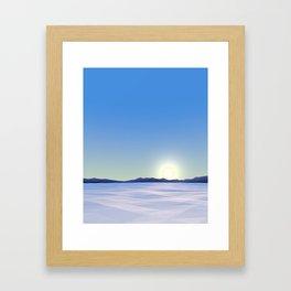 Arctic Vista Framed Art Print