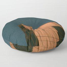 Observant Light Floor Pillow