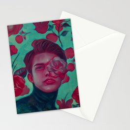 Prince of roses Stationery Cards