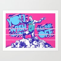 Dolph Ziggler Art Print