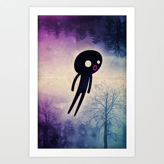 omino_ solitario Art Print