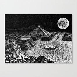 Meso-Mania Canvas Print