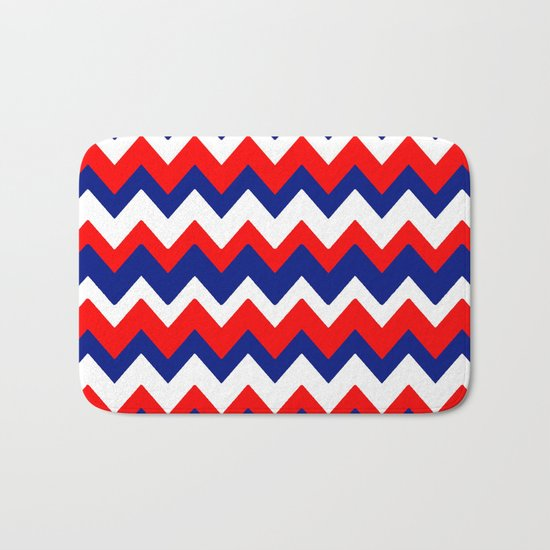 Red, White and Blue, 2016 Bath Mat