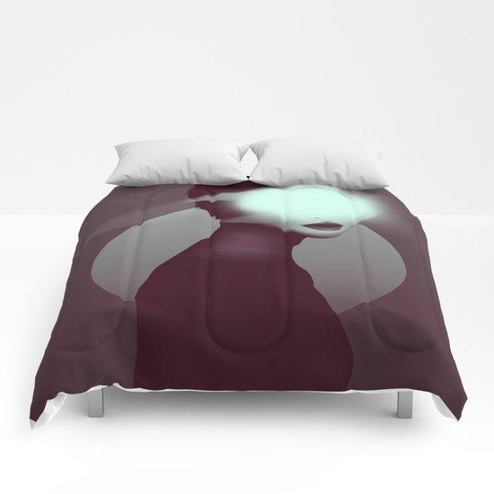 Bastet/Cat Goddess (Color Variant Version) Comforters