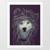 Sweet dog Art Print