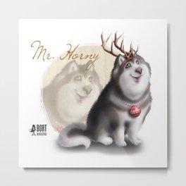 Mr. Horny Metal Print