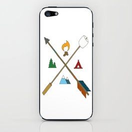 Let's Camp iPhone Skin