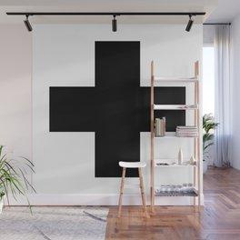 + No. 2 -- Black Wall Mural