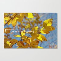 bible verse Canvas Prints featuring Bible by RAWaterman