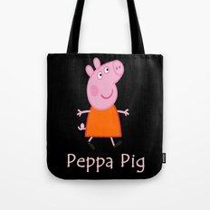 peppa pig Tote Bag