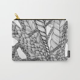 looping braids Carry-All Pouch