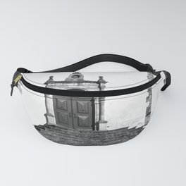 Church of Misericordia in Monochrome Fanny Pack