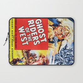 Ghost Riders of The West Laptop Sleeve