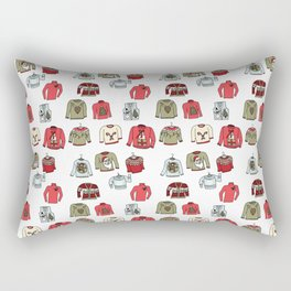 Ugly Sweaters Rectangular Pillow