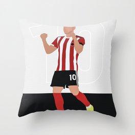 Billy Sharp Sheffield Throw Pillow