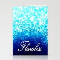 flawless Stationery Cards featuring FLAWLeSS by 2sweet4words Designs
