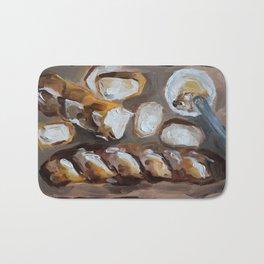 Baguette, french bread, du pain, food Bath Mat