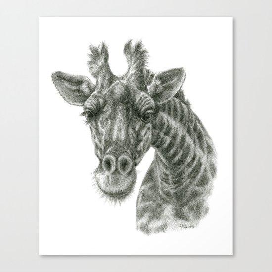 The giraffe G2012-049 Canvas Print