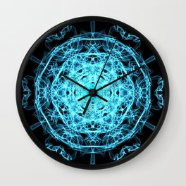 Lighting mandala Wall Clock