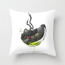 RISER Throw Pillow