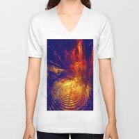 twilight V-neck T-shirts featuring Twilight by Art-Motiva
