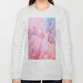 Delicate Glitches Long Sleeve T-shirt