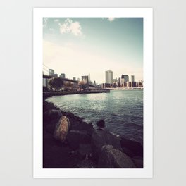 The Calm of the City Art Print