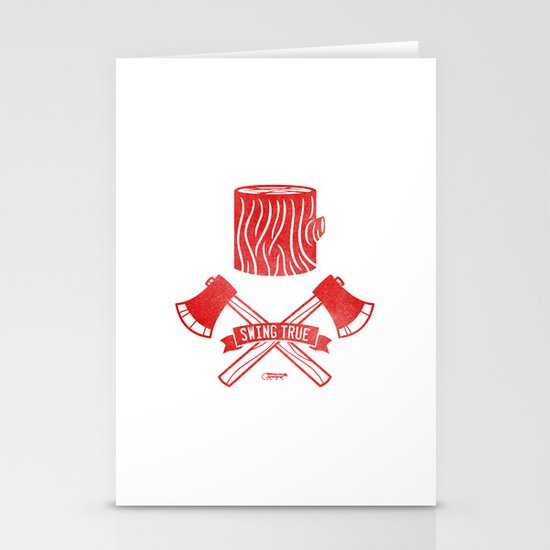 Swing True Stationery Cards