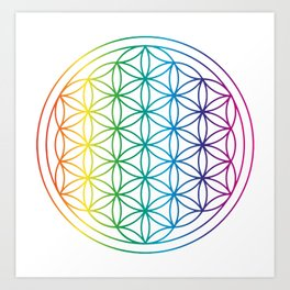 Sacred Geometry Art Prints | Society6