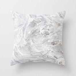 Marble pattern Throw Pillow