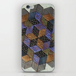 Tumbling Blocks #4 iPhone Skin