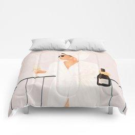 Morning Wine II Comforters