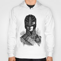 wrestling Hoodies featuring WRESTLING MASK 6 by DIVIDUS DESIGN STUDIO