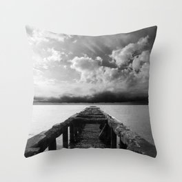 without destination Throw Pillow