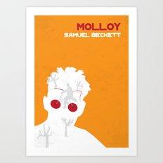 Molloy - Samuel Beckett Art Print