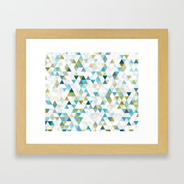 Low Polly Framed Art Print